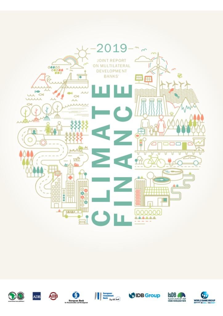 2019 Joint Report on Multilateral Development Banks' Climate Finance