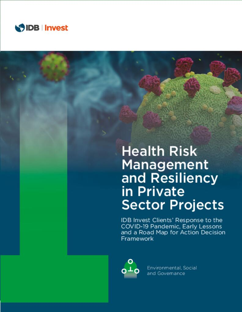 Health Risk Management and Resiliency in Private Sector Projects