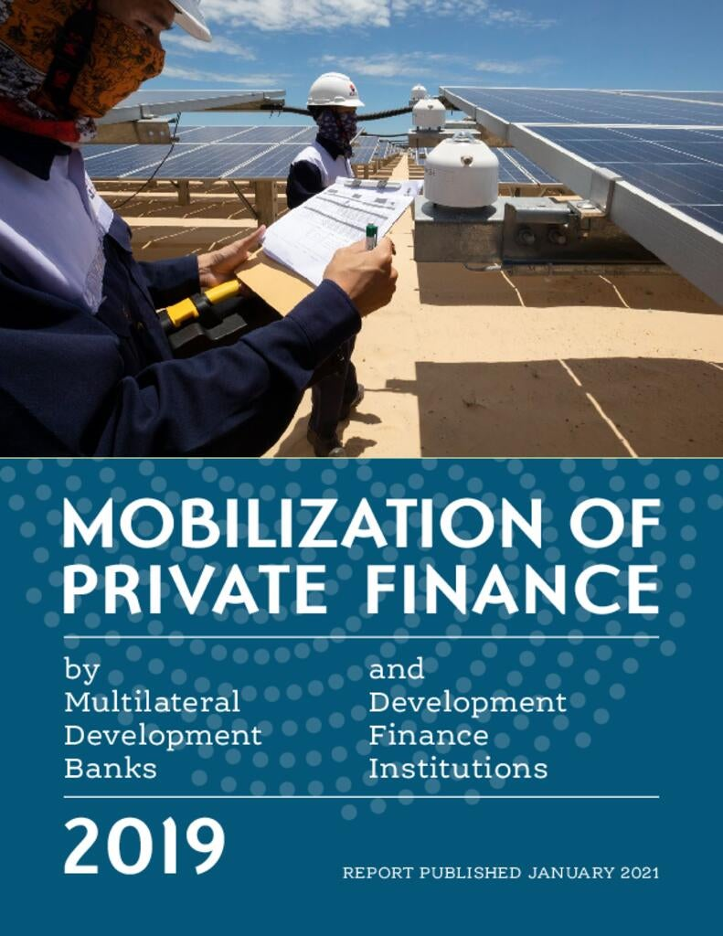 Mobilization of Private Finance (Joint Report, 2019)