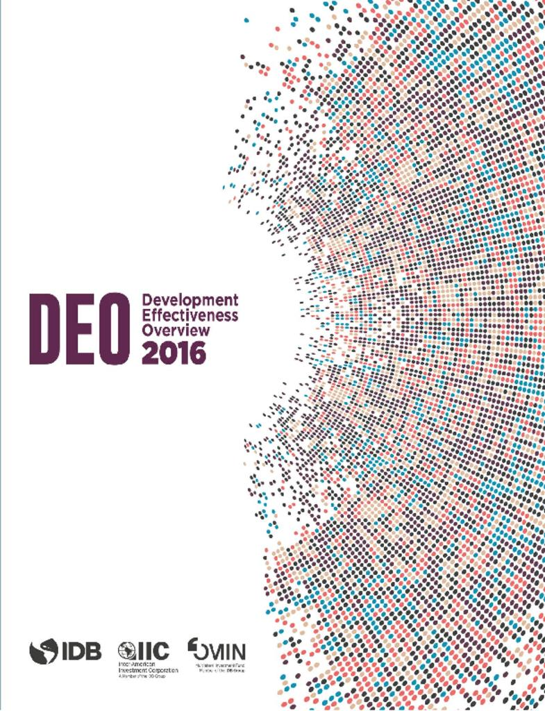 Development Effectiveness Overview 2016 Report