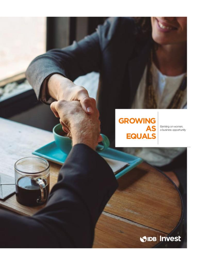 Report: Growing as equals - Banking on women, a business opportunity