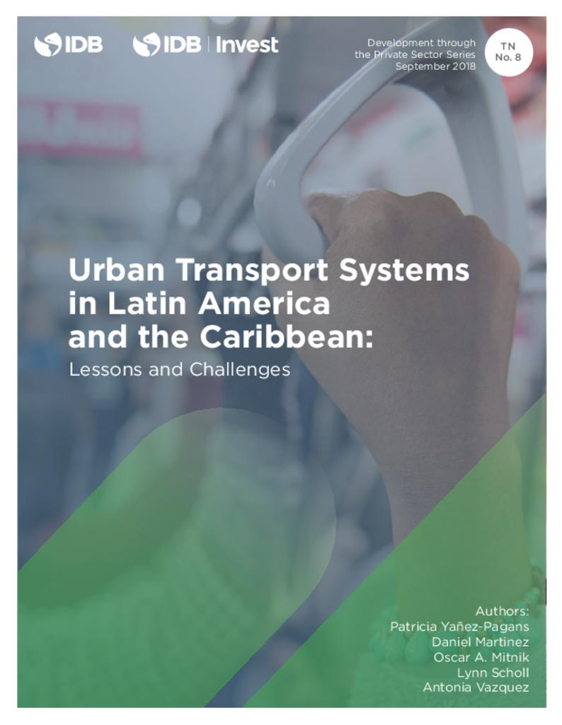 Urban Transport Systems in Latin America and the Caribbean