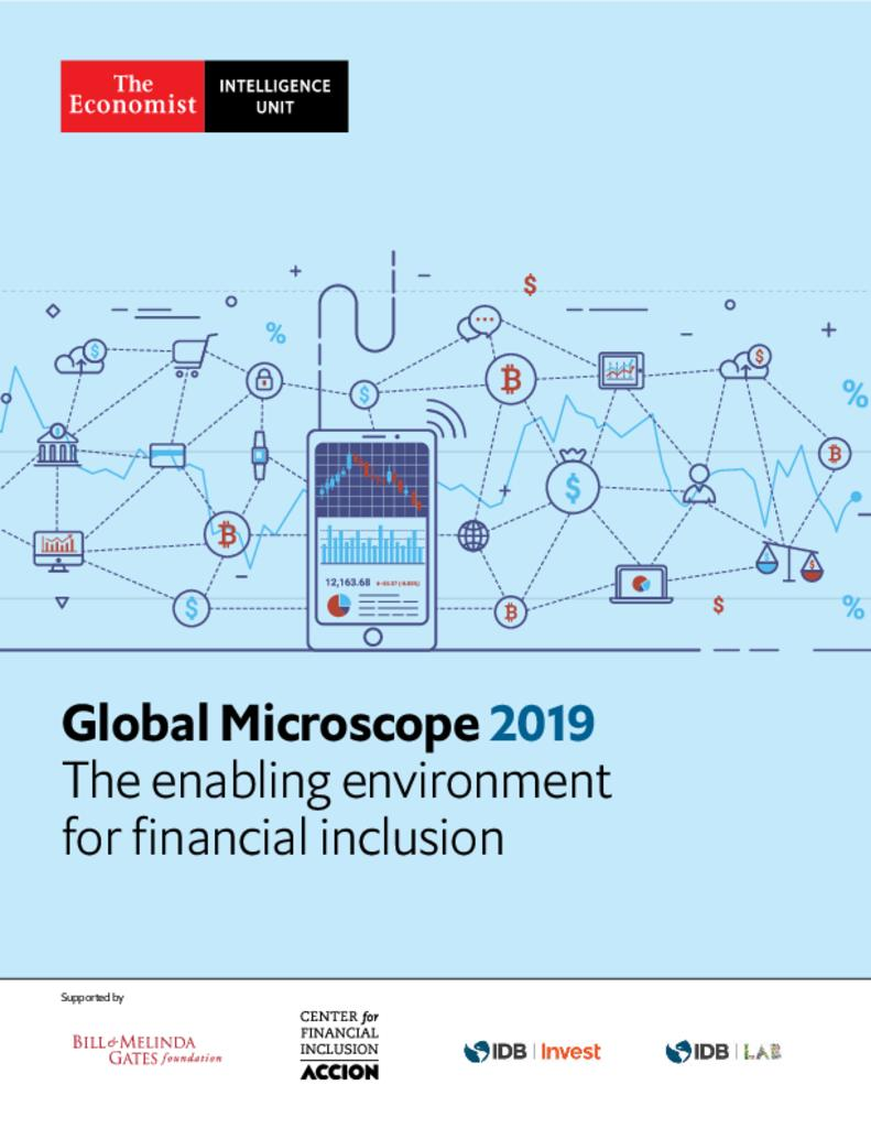Global Microscope 2019: The Enabling Environment for Financial Inclusion