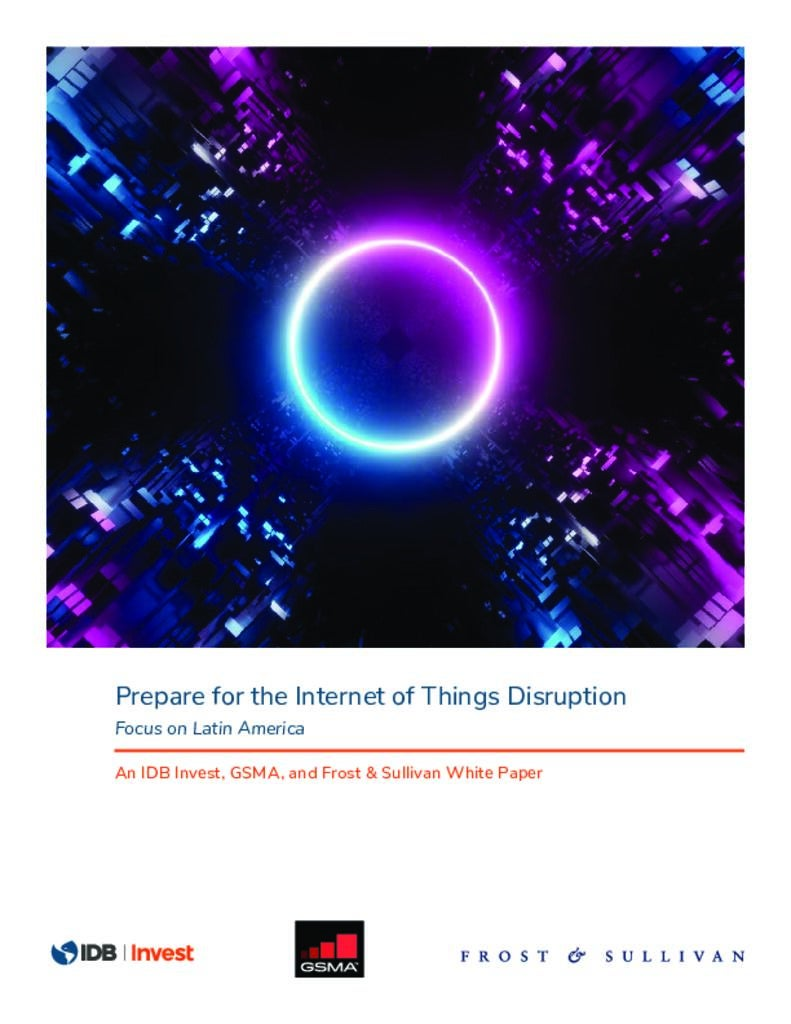 Prepare for the Internet of Things Disruption