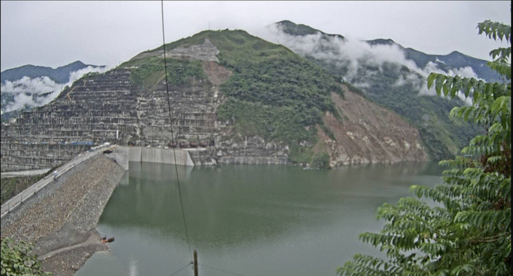 Ituango Hydroelectric Project Reservoir