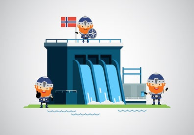 Water management: the key for the successful hydroelectric generation in Norway