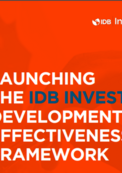 Development Effectiveness brochure